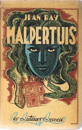 Okładka pierwszego wydania z 1943, wyd. Auteurs Associés. Bruksela.