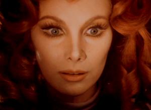 """Euryale, kadr z filmu """"Malpertuis"""", reż. Harry Kümel, 1972."""